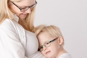 Schwangeren Fotografie mit Geschwisterkind - Gütersloh