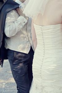 Hochzeitsfotografie Gütersloh - kurze Pause